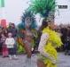 Бразильянка на карнавале в Турине