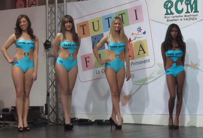 Modella per l'Arte 2013 Foto e video Torino Lingotto concorso di bellezza