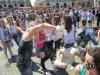 Water's battle. Gavettoni a Torino in Piazza Castello