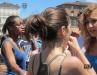 Италия - Массовое купание в фонтане