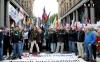 Manifestazione Lega via Roma Torino