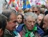 Manifestazione Lega Nord cartelli contro Kyenge e Boldrini.