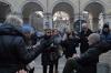 Sentinelle in piedi Torino piazza Lagrange