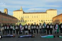 Флешмоб в поддержку Сирии
