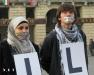 Новый флешмоб в Турине арабы Сирия
