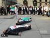 Сирийцы на площади Турина