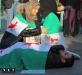 Un flash-mob per invocare la pace in Siria