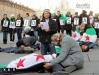 Flash Mob Torino Denuncia SYRIA