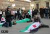 Un flash mob contro il conflitto siriano