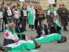 No alla guerra in Siria flash mob