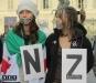 flash mob per dire no alla guerra in Siria