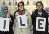 Манифестация против Assad Bashar