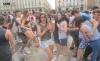 Fine scuola Torino bagno piazza Castello