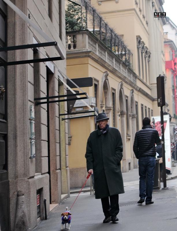 Торговая улица Милан Италия Монта Наполеоне