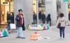 Уличные артисты Милана