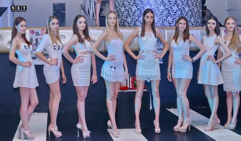 Мисс фотомодель Италии отбор в Турине
