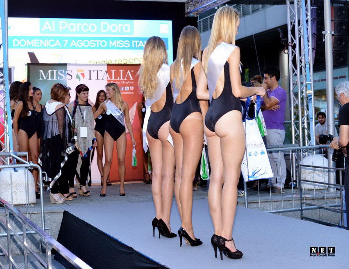 Miss Italia selezioni regionale Torino parco Dora
