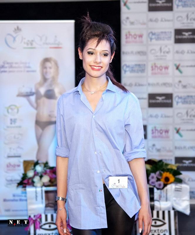 Конкурсы красоты в Турине Италии Мисс Монализа