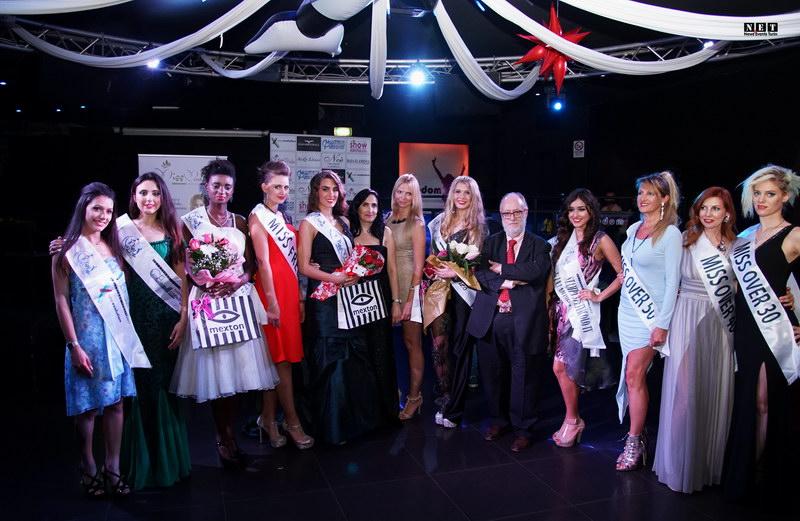 Le vincitrici miss monnalisa Torino Piemonte Carmen Constantin