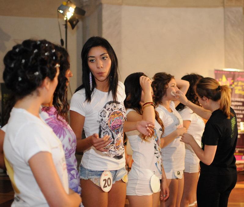 Backstage Concorso Nazionale di Bellezza Torino
