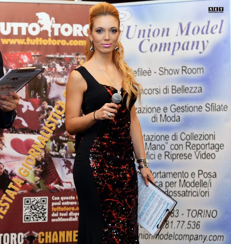 Ведущая конкурса красоты Miss Toro Granata