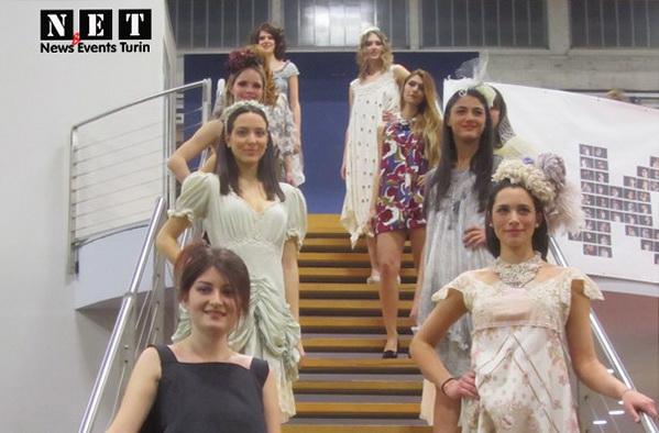 Показ мод на международный день 8 марта Турин