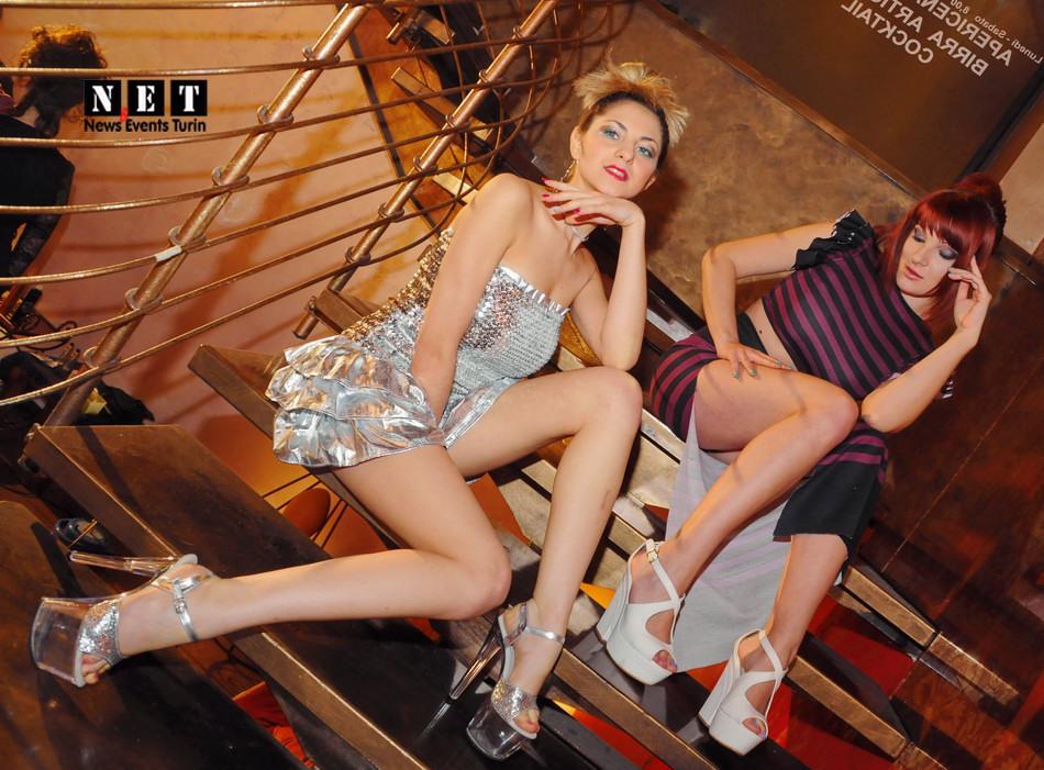 Вечер моды Lounge бар Турин девушка может почувствовать себя моделью