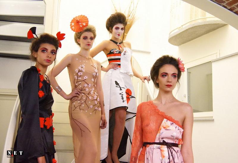 Nuovi talenti di alta moda Torino Italia 2017 Таланты высокой моды в Турине.