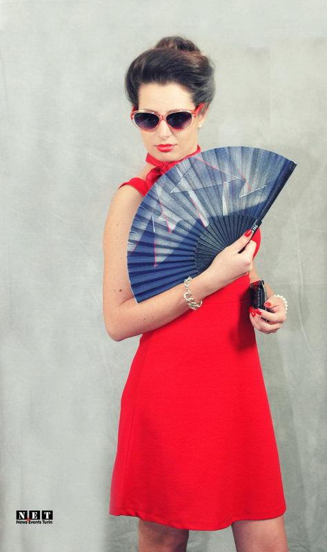 Старая итальянская мода в Турине показа моды
