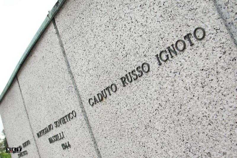 Советские партизаны в Италии Неизвестный погибший советский солдат в Италии
