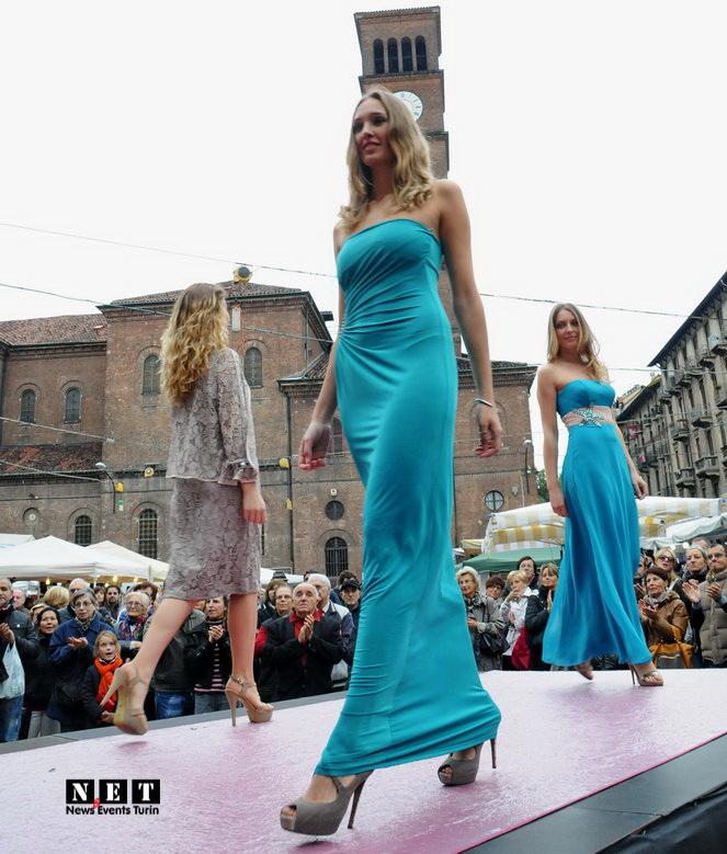 Elia Tarantino sfilata Crocetta Federica moda vintage