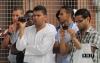 Gruppo musulmani Torino Italia