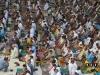 Европейские мусульмане на молитве Рамадан Италия
