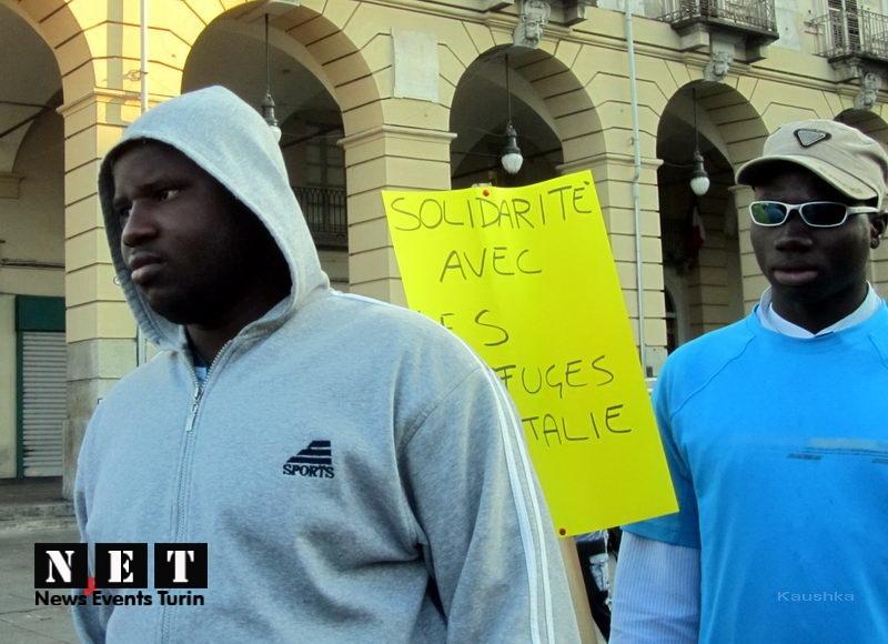 protesta-manifestazione-rifugiati-di-libia-a-torino-1