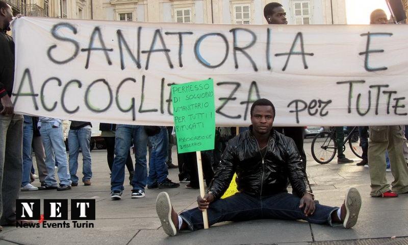Массовые манифестации беженцев африканцев по всем городам Италии