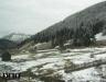 Чуть выше в горах уже снег Румыния