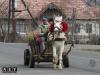 Румыны на повозке с лошадью