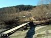 Мостик через речку в Румынии