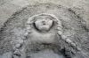 Фигуры на песке Лигурии