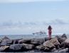 Девушка и лигурийское море