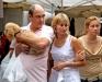 Французская семья в Сан Ремо