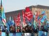 Torino sciopero per un servizio sanitario piazza Castello