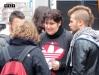 Европейская забастовка в Италии Турин