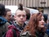Итальянский панк на забастовке