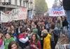 Более 100 тысяч человек приняли участие в манифестации в Италии