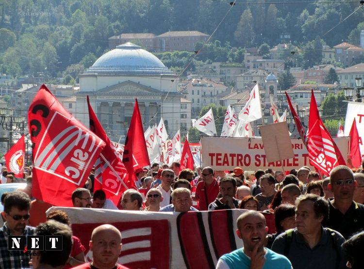 Генеральная забастовка профсоюзов Италии