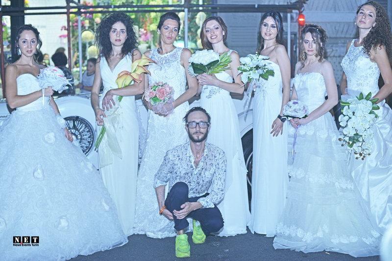 Dario Barbero con la moda italiana matrimoniale Torino