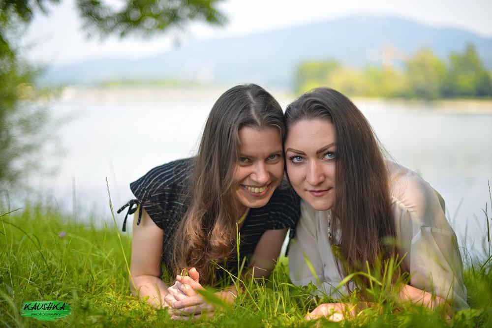 Русские женщины в Италии, пикник встречи в Турине