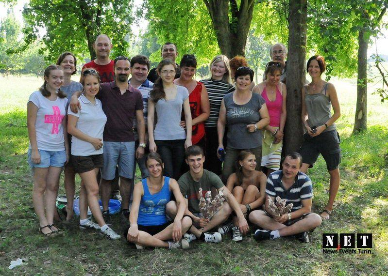 Русский пикник Шашлык в Турине 2013