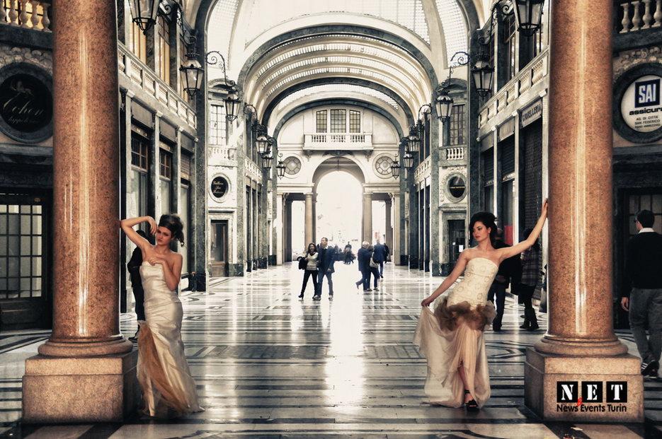 В галерее Сан Федерико провели конкурс моды в Турине